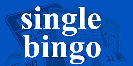 SINGLE BINGO SATURDAY MARCH 14, 2020 tickets
