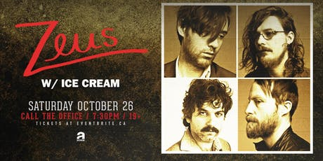 Zeus w/ Ice Cream tickets