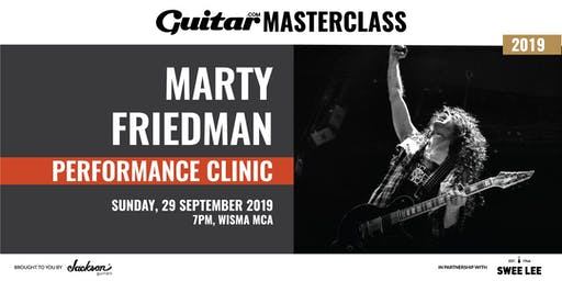 Guitar.com Performance Clinic with Marty Friedman