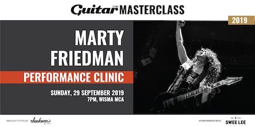 Guitar.com Performance Clinic with Marty Friedman