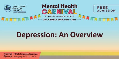 Depression: An Overview tickets