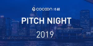 CoCoon Pitch Night Semi-Finals Fall 2019 (26/9)...