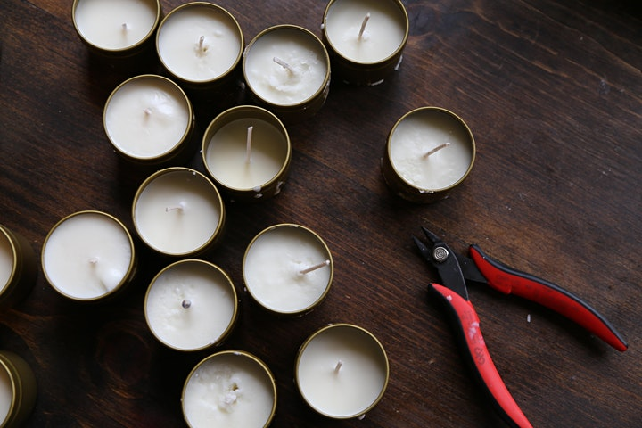 DIY Candle Class with OWL Venice image
