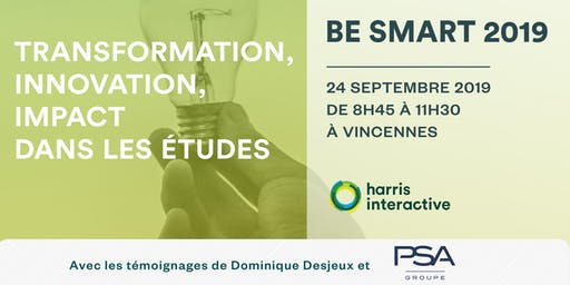 Be Smart : transformation, innovation, impact