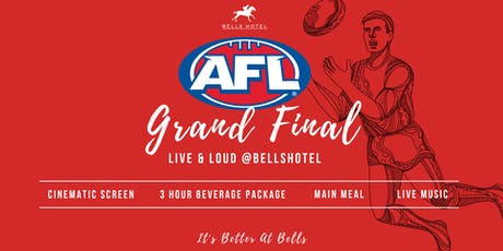 Bells Hotel AFL Grand Final tickets
