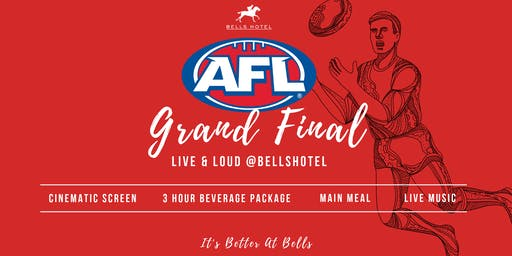 Bells Hotel AFL Grand Final