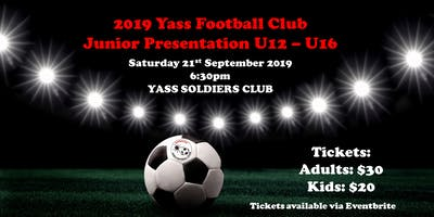 Yass Football Club Junior Presentation 2019