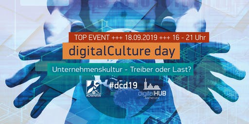 #dcd19 – der digitalCulture day im digitalHUB Aachen
