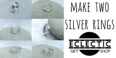 Silver Ring Making Workshop (No Soldering) (Adults) tickets