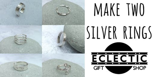 Silver Ring Making Workshop (No Soldering) (Adults)