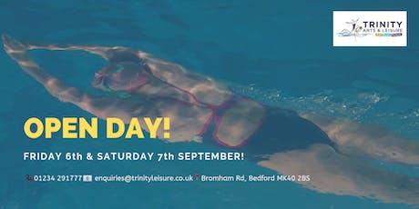 Open Day | Trinity Arts & Leisure tickets