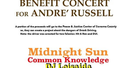Benefit Concert for Andre' Russell tickets