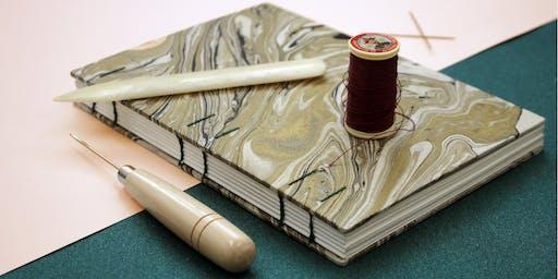Coptic Bookbinding Workshop - Juju Books x BAM Vintage