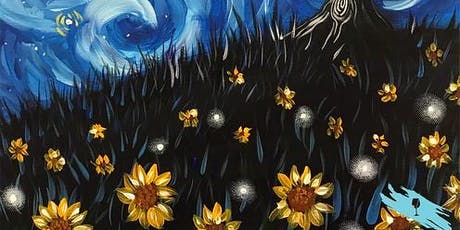 Night Meadow with a Starry Twist (2hr Paint & Sip) - BYO Food & Drink tickets