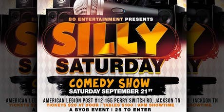 Silly Saturday Comedy Show tickets