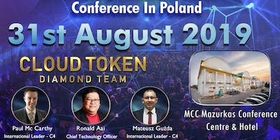 Event z Ronaldem Aai - Business konferencja FinTech - Blockchain Tokens