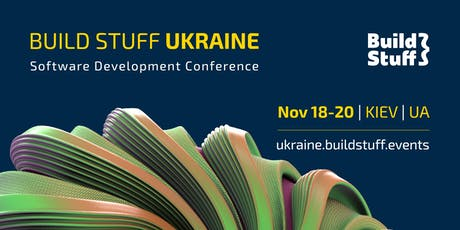 BUILD STUFF 2019 UKRAINE tickets