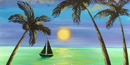 Paint Your Paradise (2hr Paint & Sip) - BYO Food & Drink