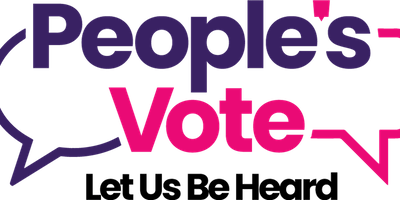 People's Vote Demonstration -Let us be heard