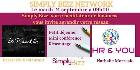 Simply Bizz Network 24 septembre tickets