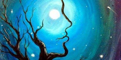 Summer Moon (2hr Paint & Sip) - BYO Food & Drink