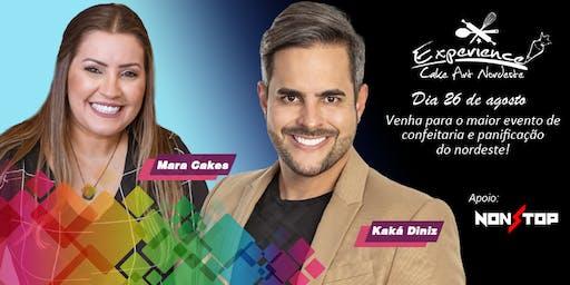 Dia 26/08 Palestras - MARA CAKES & KAKÁ DINIZ Experience Cake 2019