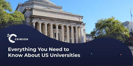 Everything You Need to Know About US Universities - Dublin tickets