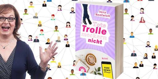 """Buchstartparty """"Tote Trolle meckern nicht"""""""