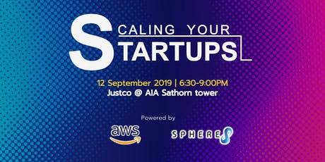 Scaling your Startups tickets