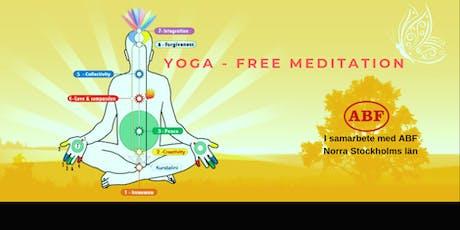 Yoga-Free Meditation (Sundbyberg) tickets