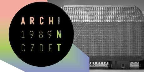archint 1989_cz:de: Brutal Treatment of Brutalism tickets