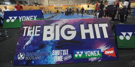 2019 Scottish Open Big Hit Festivals (Glasgow Schools Only) billets