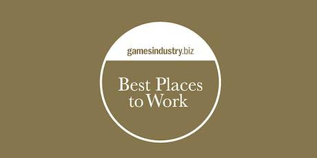 GamesIndustry.biz Best Places To Work Awards 2019 tickets