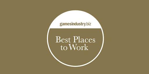 GamesIndustry.biz Best Places To Work Awards 2019