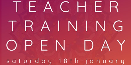 Yoga Teacher Training Open Day tickets