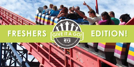 Give it a Go! : Blackpool Pleasure Beach | Bolton SU