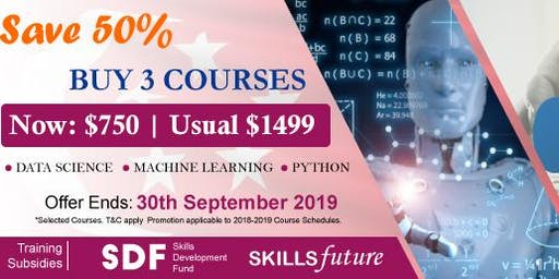 Join 3 Days Bootcamp for Data Science & Analytics Training Course Singapore