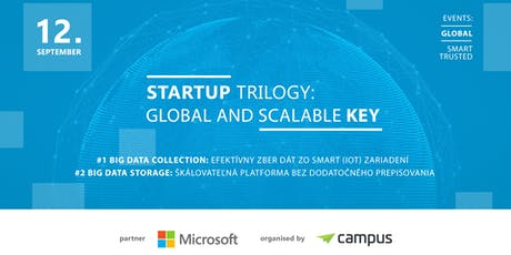 Startup Trilogy: Global and Scalable Key tickets