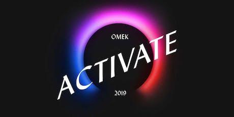 Omek ACTIVATE 2019 tickets