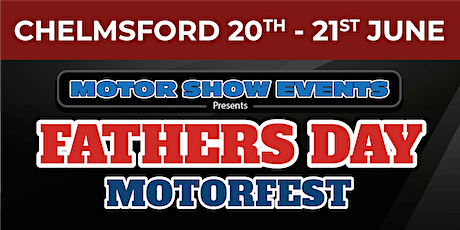Father's Day Motorfest weekender tickets