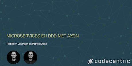 Microservices en DDD met Axon tickets