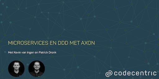 Microservices en DDD met Axon