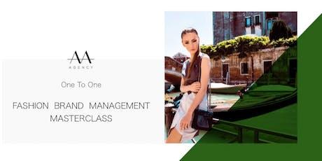 Fashion Brand Management 1:1 Masterclass in London tickets