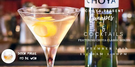 Choya Cocktails & Canapes Event ( Sponsored by Choya) tickets