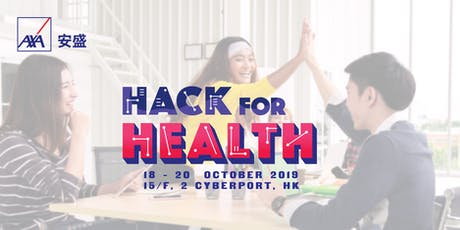 AXA Hack for Health tickets