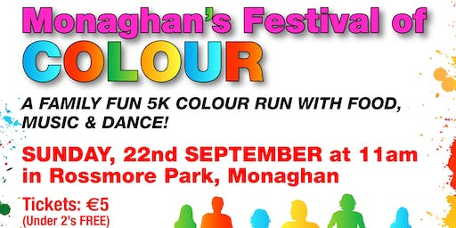 Festival of Colour 5km Run for Fun (Monaghan)