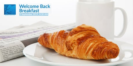 """Welcome Back"" Breakfast tickets"
