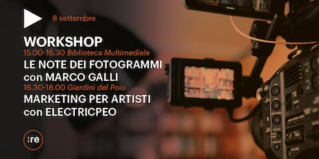Remake 2019: workshop cinema e arte con Marco Galli ed ElectricPeo biglietti