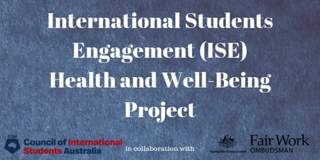 International Student Engagement Health and Well-Being | Canberra tickets
