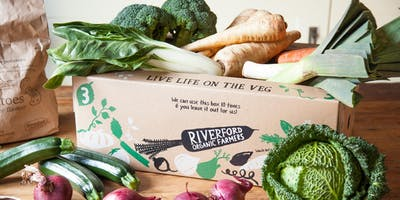 Riverford Cooking with Seasonal Veg Demonstration